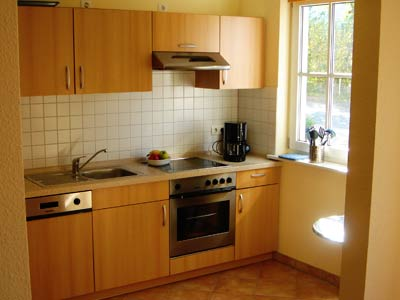 Ferienhaus auf Rügen, Küche
